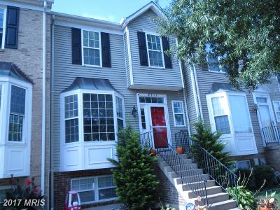 Crofton Townhouse For Sale: 2311 Manomet Court