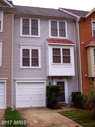 Odenton Townhouse For Sale: 2128 Brigadier Boulevard