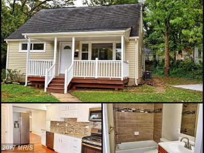 Glen Burnie Single Family Home For Sale: 111 Ilene Road