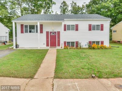 Glen Burnie Single Family Home For Sale: 516 Arbor Drive