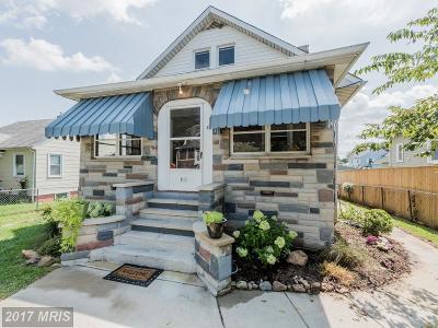 Baltimore Single Family Home For Sale: 411 Doris Avenue