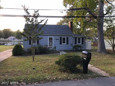 Shady Side MD Single Family Home For Sale: $499,000