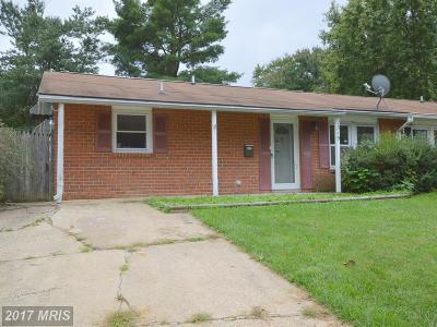 Odenton Single Family Home For Sale: 1319 Farrara Drive