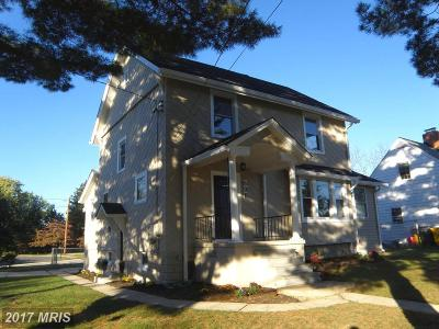 Linthicum Single Family Home For Sale: 606 Andover Road