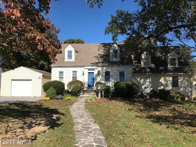 Anne Arundel Single Family Home For Sale: 10 Wells Avenue