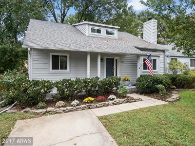 Annapolis Single Family Home For Sale: 1394 Stonecreek Road