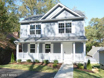 Crownsville Single Family Home For Sale: 388 Chestnut Trail