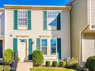 Crofton Townhouse For Sale: 1827 Log Mill Place