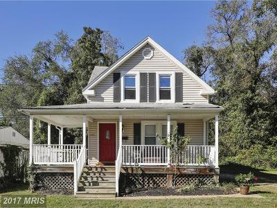 Annapolis Single Family Home For Sale: 215 Taylor Avenue