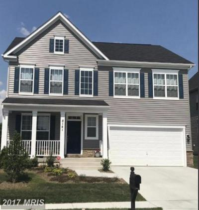 Single Family Home For Sale: 8115 Ridgely Loop
