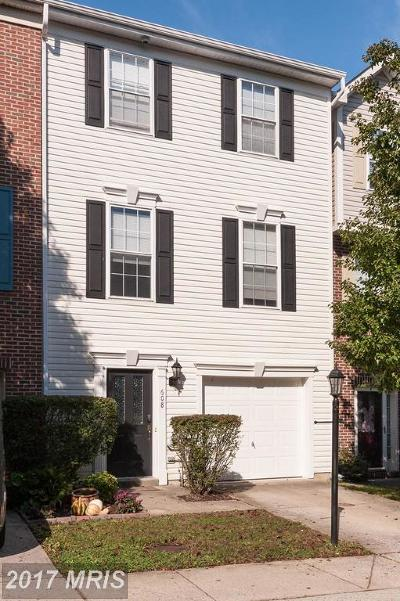 Annapolis Townhouse For Sale: 608 Baystone Court