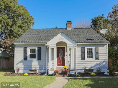 Glen Burnie Single Family Home For Sale: 106 4th Avenue SE