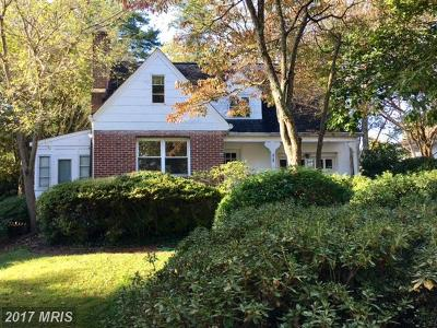 Annapolis Single Family Home For Sale: 707 Springdale Avenue