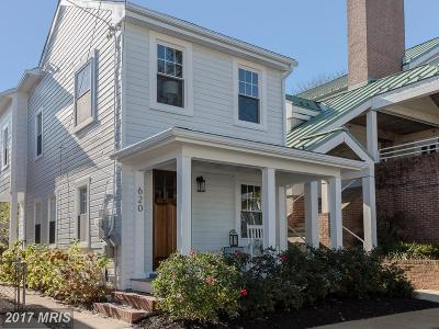Annapolis Single Family Home For Sale: 620 Second Street