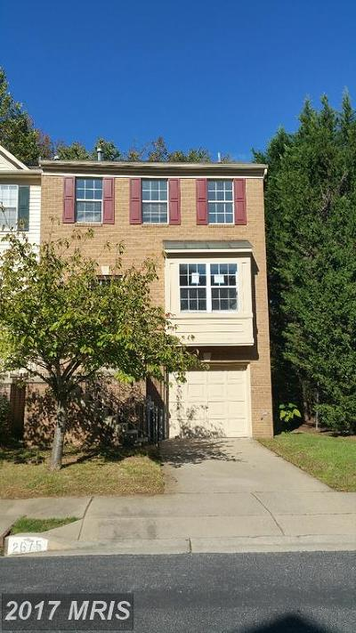 Anne Arundel Townhouse For Sale: 2675 Worrell Court