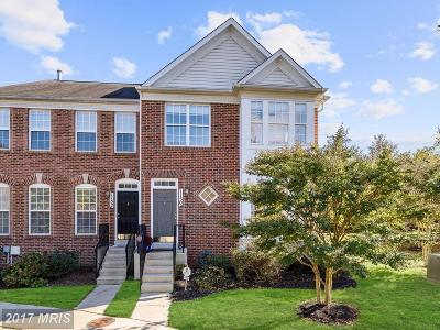 Anne Arundel Townhouse For Sale: 1150 August Drive