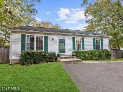 Odenton Single Family Home For Sale: 531 Oakton Road