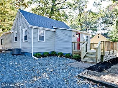 Pasadena Single Family Home For Sale: 7719 Colonial Beach Road