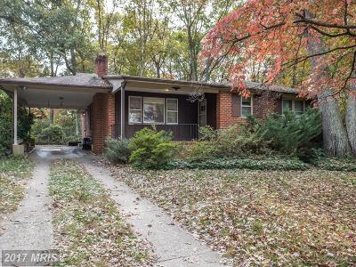 Severna Park Single Family Home For Sale: 831 West Benfield Road