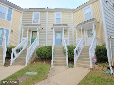 Laurel Townhouse For Sale: 3412 Whispering Hills Place