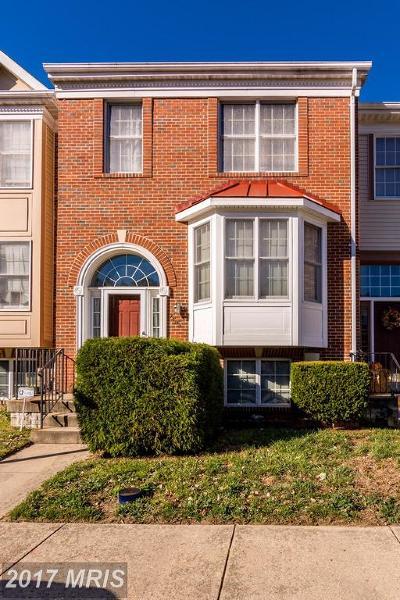 Odenton Townhouse For Sale: 255 Saint Michaels Circle