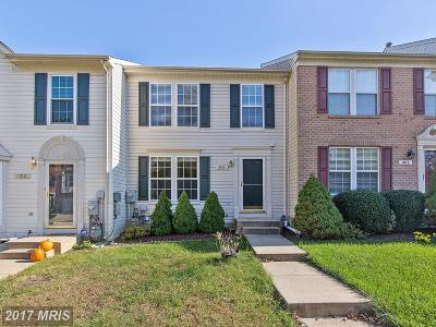 Piney Orchard, Chapel Grove Townhouse For Sale: 805 Patuxent Run Circle