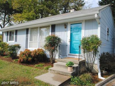 Annapolis Single Family Home For Sale: 4 Thorn Court