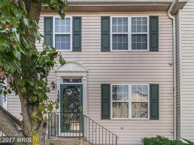 Annapolis Townhouse For Sale: 155 Brightwater Drive