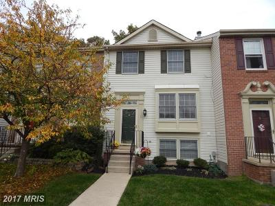 Anne Arundel Townhouse For Sale: 1334 Hollow Glen Court