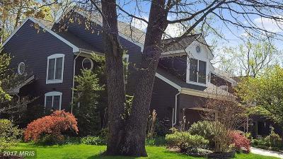 Annapolis Townhouse For Sale: 114 Summer Village Drive