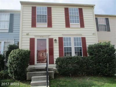 Townhouse For Sale: 739 Willowby Run