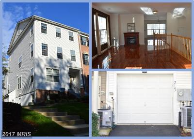 Annapolis Townhouse For Sale: 2147 Hideaway Court
