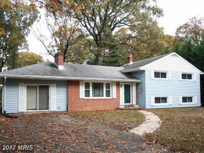 Severna Park Single Family Home For Sale: 502 Evergreen Road