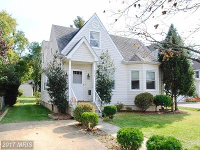 Annapolis Single Family Home For Sale: 320 Locust Avenue