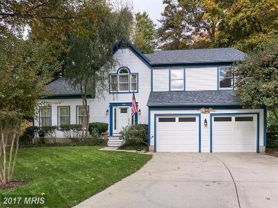Annapolis Single Family Home For Sale: 2 Carriage Run Court