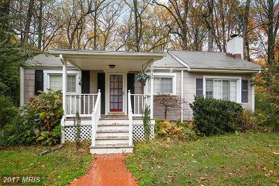 Annapolis Single Family Home For Sale: 1930 Severn Grove Road
