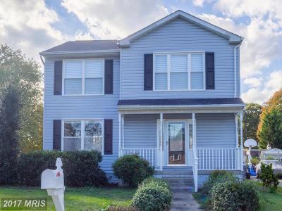 Glen Burnie Single Family Home For Sale: 131 William Chambers Jr Drive