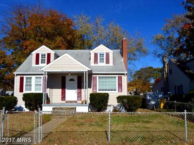 Glen Burnie Single Family Home For Sale: 102 2nd Avenue N