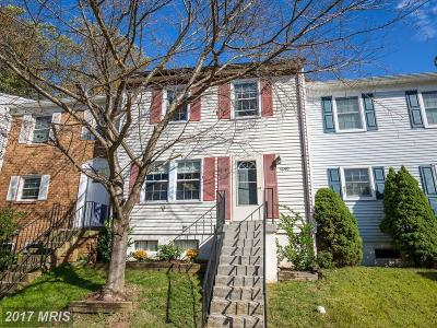 Crofton Townhouse For Sale: 1640 Mount Airy Court