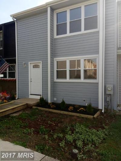 Annapolis Townhouse For Sale: 1742 Woodtree Circle