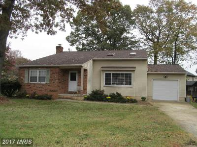 Severna Park Single Family Home For Sale: 513 Oakham Court
