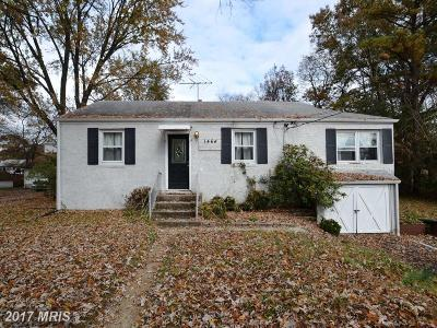 Severn Single Family Home For Sale: 1464 Maryland Avenue