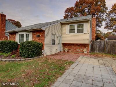 Severn Single Family Home For Sale: 780 Stevenson Road