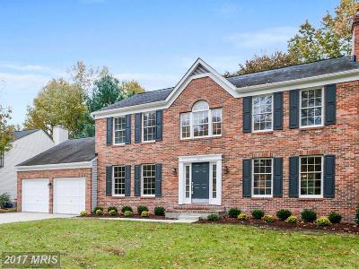 Annapolis Single Family Home For Sale: 407 Fair Hill Court