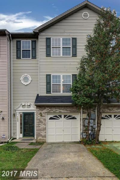 Annapolis Townhouse For Sale: 125 Brightwater Drive