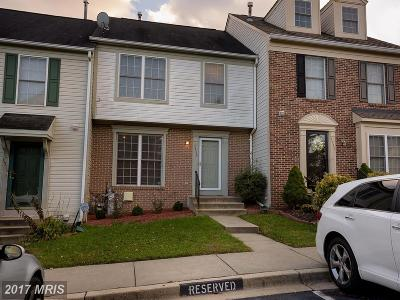 Severn Townhouse For Sale: 1713 Wood Carriage Way #112