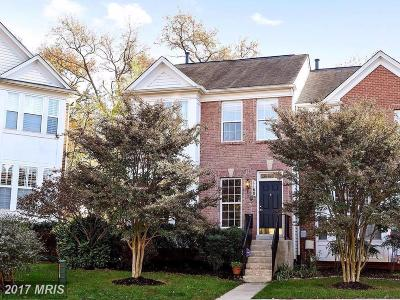 Anne Arundel Townhouse For Sale: 1160 August Drive