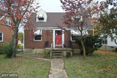 Anne Arundel Single Family Home For Sale: 7547 Baltimore Annapolis Boulevard