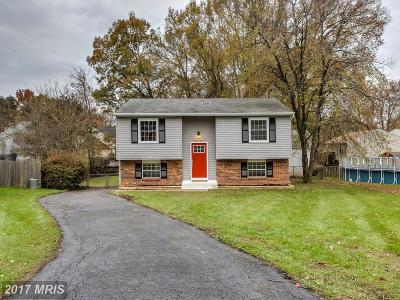 Glen Burnie Single Family Home For Sale: 379 Jamie Court