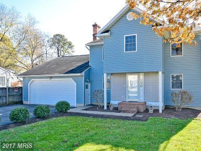 Anne Arundel Single Family Home For Sale: 115 Range Road